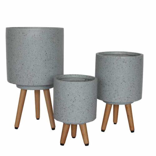 Asher Tripod Cement Terrazzo