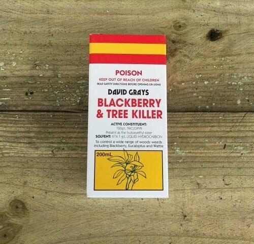 Blackberry and Tree Killer