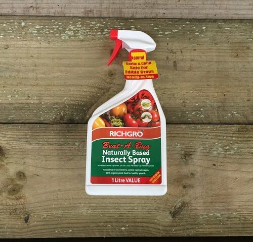 Naturally Based Insect Spray