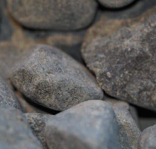 Grey Black Pebble