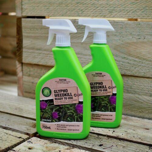 Resource Gardening Twin Pack Weed Killer