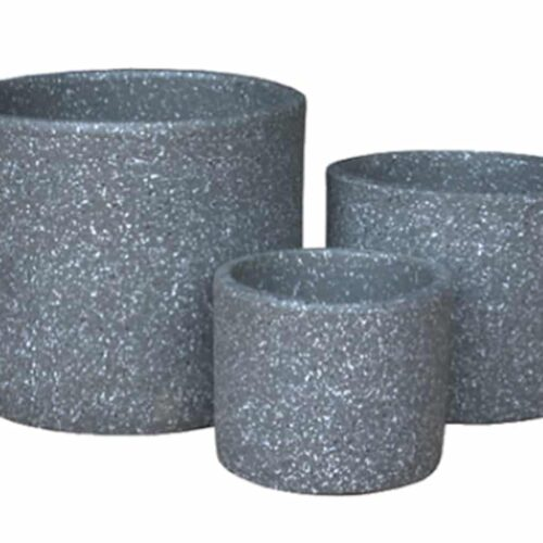 Bouraki Cylinder Charcoal