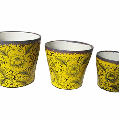 Dara Indoor Cone Yellow