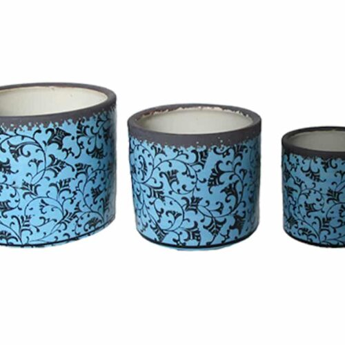 Dara Indoor Cylinder Blue