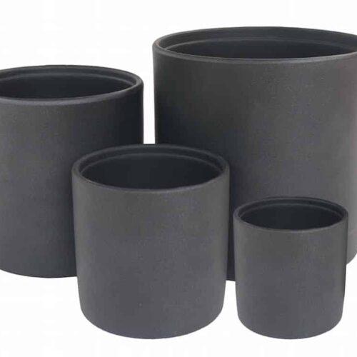 Jessa Cylinder Black