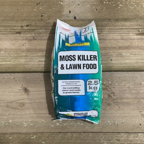 Moss Killer and Lawn Food